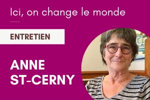 Anne St-Cerny, diplômée de sexologie